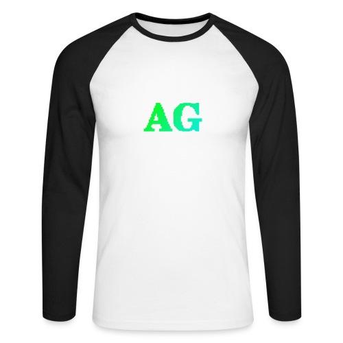 ATG Games logo - Miesten pitkähihainen baseballpaita