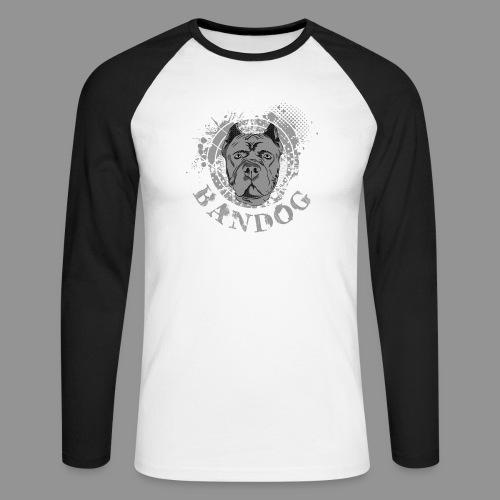 Bandog - Men's Long Sleeve Baseball T-Shirt