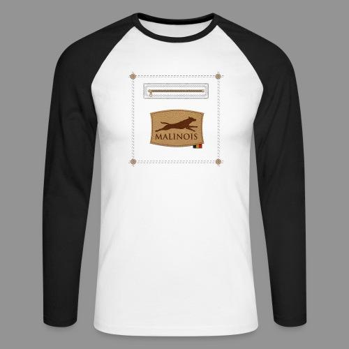 Belgian shepherd Malinois - Men's Long Sleeve Baseball T-Shirt