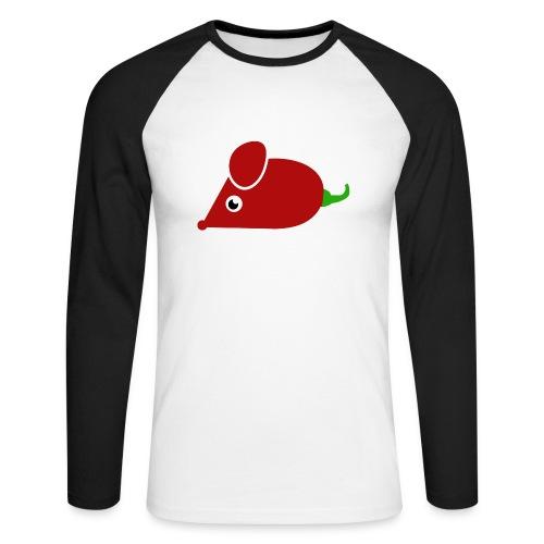 Chillimouse - Männer Baseballshirt langarm