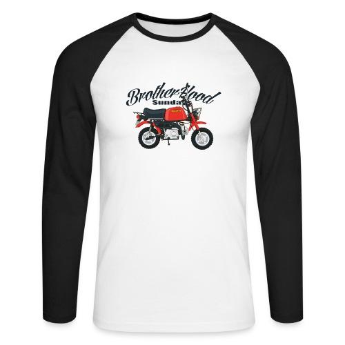 gorilla - T-shirt baseball manches longues Homme