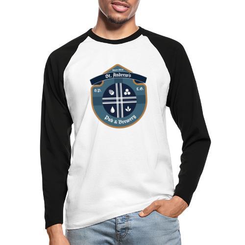 St Andrews T-Shirt - Maglia da baseball a manica lunga da uomo