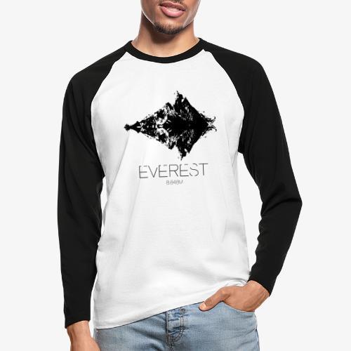 Everest - Men's Long Sleeve Baseball T-Shirt
