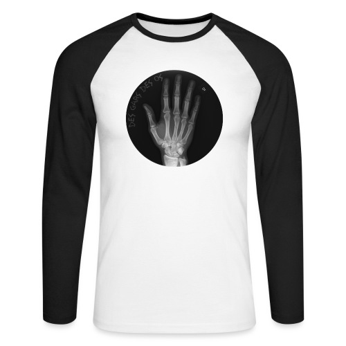 Des gars des os by JARL - T-shirt baseball manches longues Homme