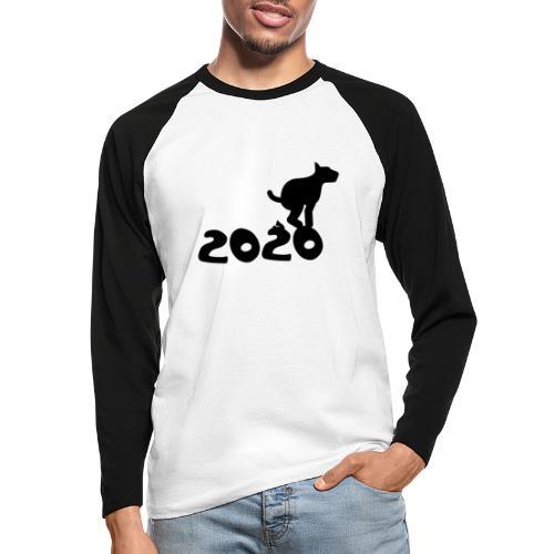2020 - Sch* drauf! - Männer Baseballshirt langarm
