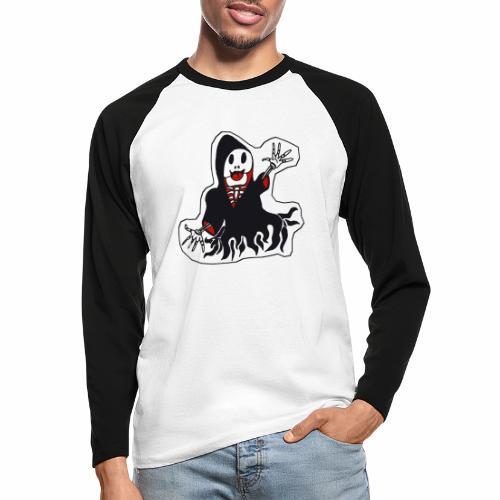 la faucheuse rigolote - T-shirt baseball manches longues Homme