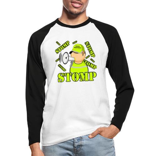 stomp - T-shirt baseball manches longues Homme