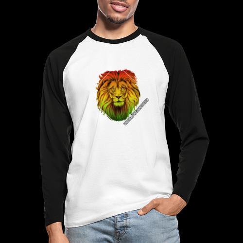 LION HEAD - UNDERGROUNDSOUNDSYSTEM - Männer Baseballshirt langarm