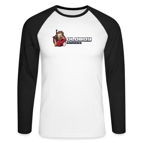 Oldboy Gamers Fanshirt - Langermet baseball-skjorte for menn