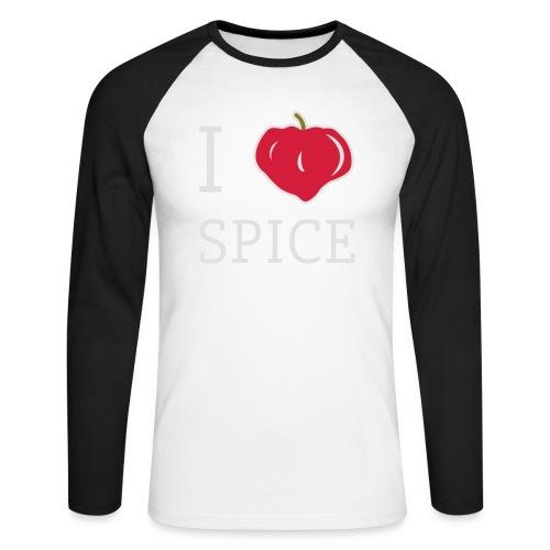 i_love_spice-eps - Miesten pitkähihainen baseballpaita