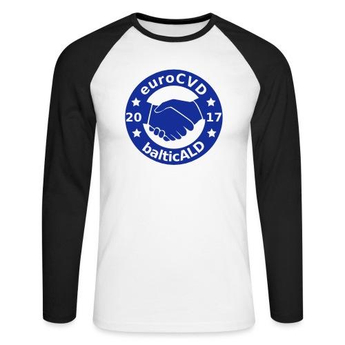 Joint EuroCVD - BalticALD conference mens t-shirt - Men's Long Sleeve Baseball T-Shirt