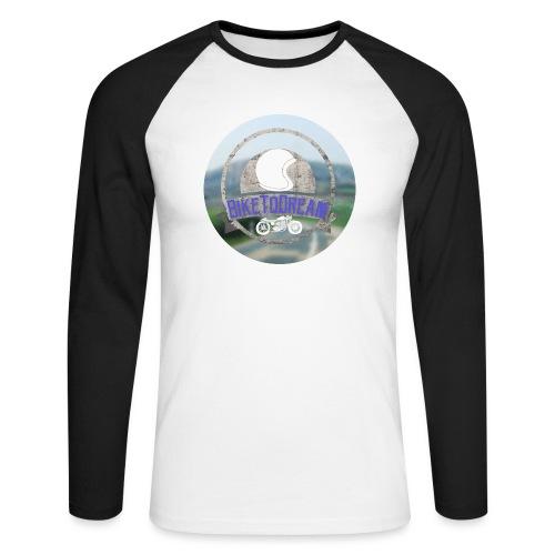 BikeToDream - T-shirt baseball manches longues Homme