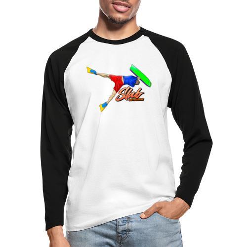 MS Invert - Men's Long Sleeve Baseball T-Shirt