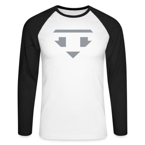 Twanneman logo Reverse - Mannen baseballshirt lange mouw