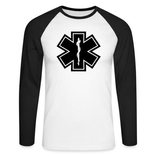 paramedic2 eps - Männer Baseballshirt langarm