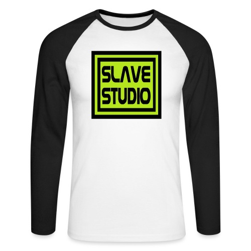 Slave Studio logo - Maglia da baseball a manica lunga da uomo