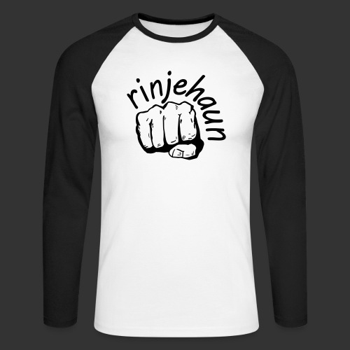 rinjehaun - Männer Baseballshirt langarm