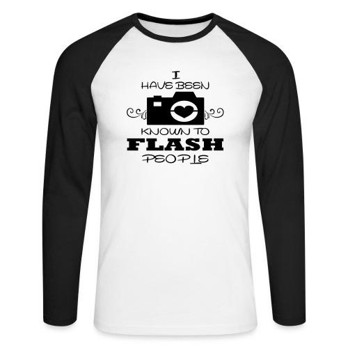 Photographer - Men's Long Sleeve Baseball T-Shirt