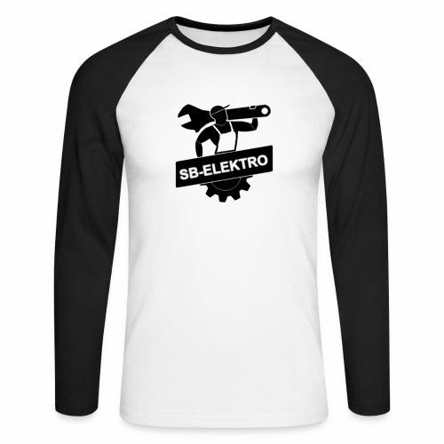 SB transp 1000 png - Langærmet herre-baseballshirt