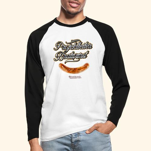 Grillen Design Projektleiter Bratwurst - Männer Baseballshirt langarm