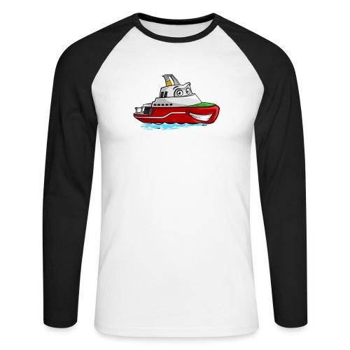 Boaty McBoatface - Men's Long Sleeve Baseball T-Shirt