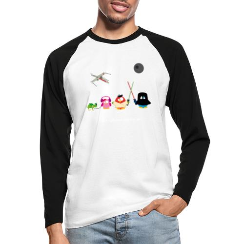 Star Ouarz - T-shirt baseball manches longues Homme
