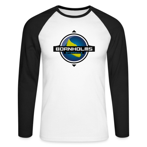 BORNHOLMS_EFTERSKOLE - Langærmet herre-baseballshirt
