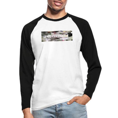 unforgettable - T-shirt baseball manches longues Homme