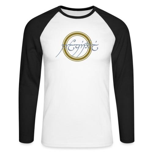 Tolkiendil en tengwar - T-shirt baseball manches longues Homme