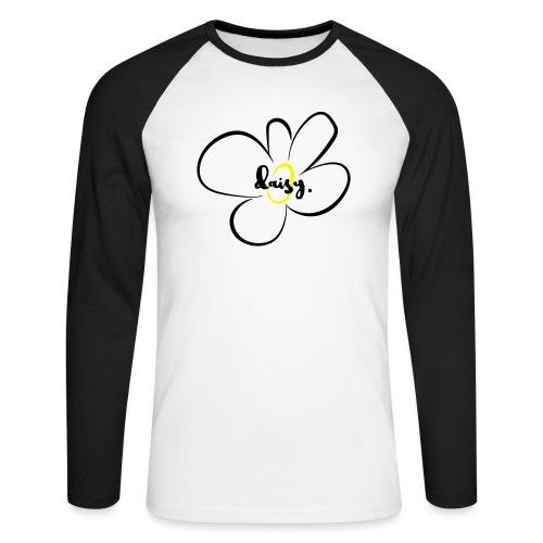 Gänseblümchen - Männer Baseballshirt langarm