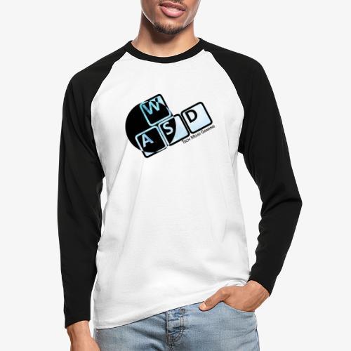 WASD TM Gaming - Men's Long Sleeve Baseball T-Shirt