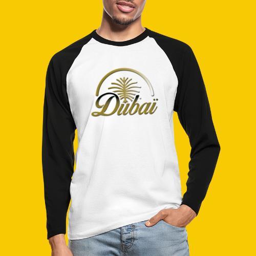 DUBAI - T-shirt baseball manches longues Homme