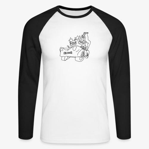 gova dinos - T-shirt baseball manches longues Homme