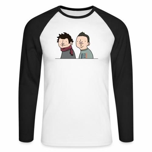 Laink et Terracid old - T-shirt baseball manches longues Homme