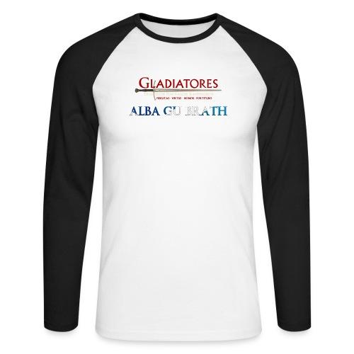 ALBAGUBRATH - Männer Baseballshirt langarm
