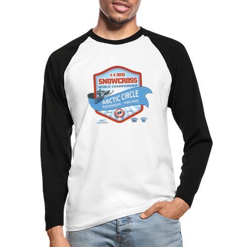 MM Snowcross 2020 virallinen fanituote - Miesten pitkähihainen baseballpaita