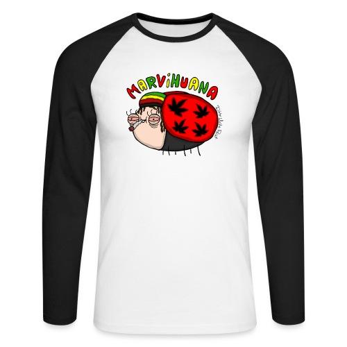 Marvihuana - Männer Baseballshirt langarm
