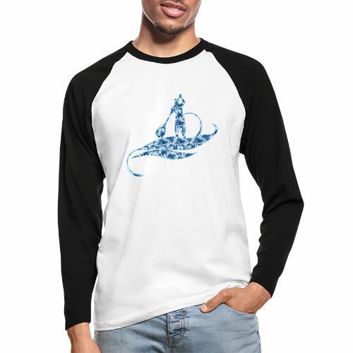 Blue Ocean - T-shirt baseball manches longues Homme