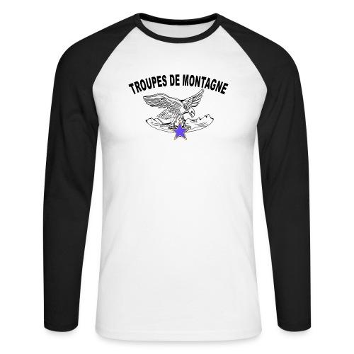 choucasTDM dos - T-shirt baseball manches longues Homme