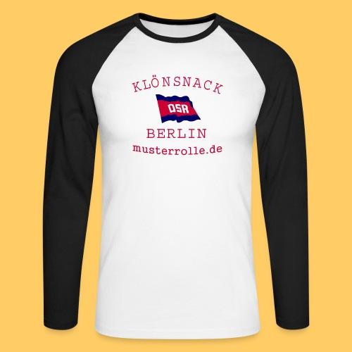 KiB-Logo-gif - Männer Baseballshirt langarm
