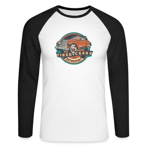 TIREKICKERS - V8 -Hotrod - Männer Baseballshirt langarm