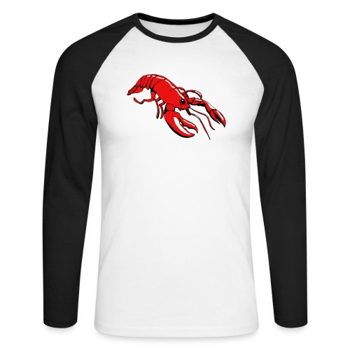 Lobster - Men's Long Sleeve Baseball T-Shirt