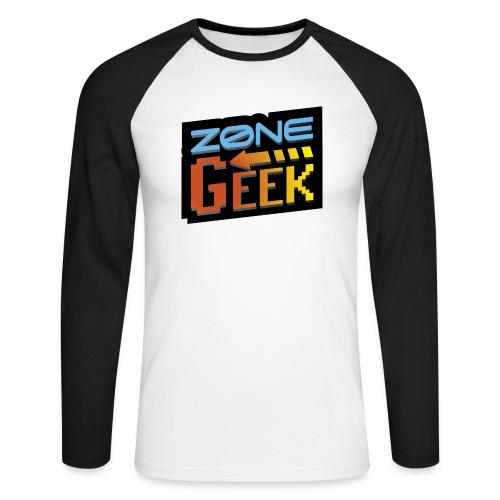 NEW Logo T-Shirt Femme - T-shirt baseball manches longues Homme