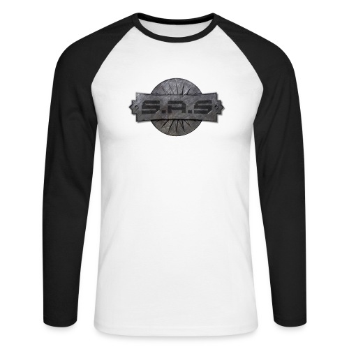 metal background scratches surface 18408 3840x2400 - Mannen baseballshirt lange mouw