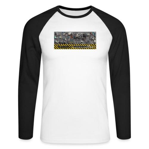 #MarchOfRobots ! LineUp Nr 1 - Langærmet herre-baseballshirt