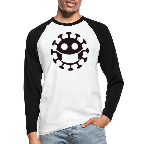 Corona Law - Langærmet herre-baseballshirt