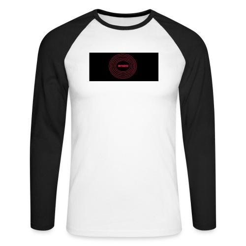 HHHHH - Langærmet herre-baseballshirt