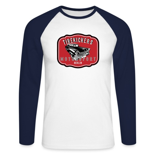 TIREKICKERS Motorsport - Männer Baseballshirt langarm