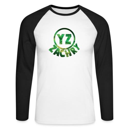 YZ-pet - Mannen baseballshirt lange mouw