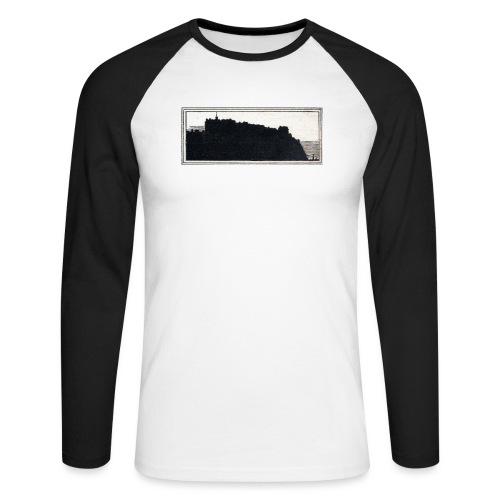 back page image - Men's Long Sleeve Baseball T-Shirt